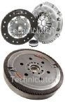 DUAL MASS FLYWHEEL DMF & COMPLETE CLUTCH KIT PEUGEOT 407 2.0 HDI.